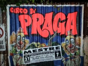 Pražský cirkus v Benátkách